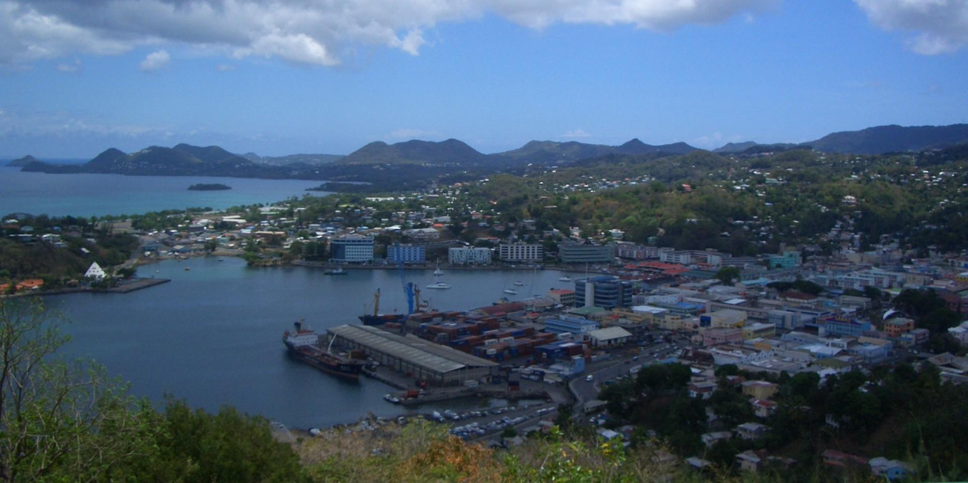 Saint Lucia Population in 2017