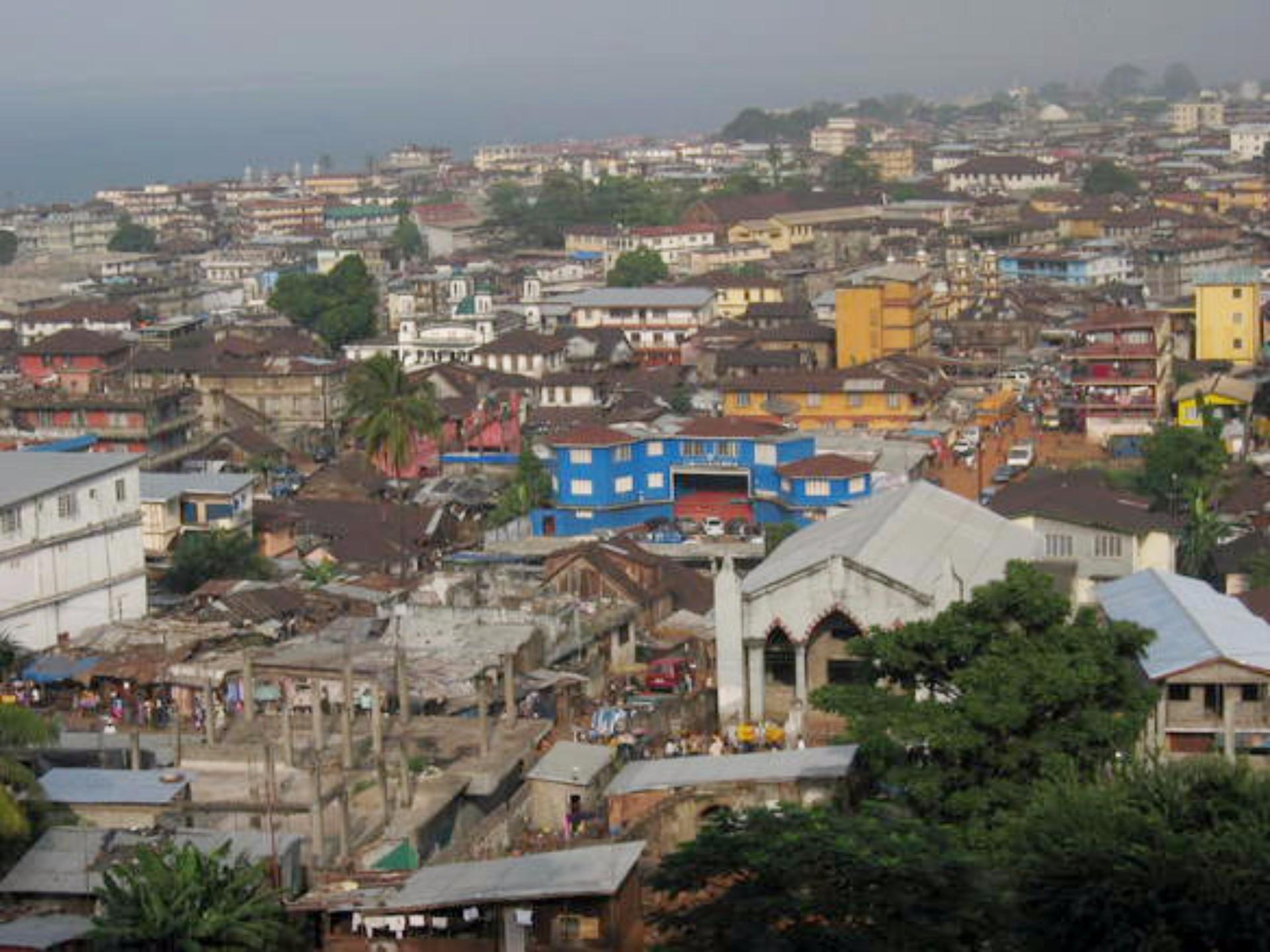Sierra Leone Population in 2017