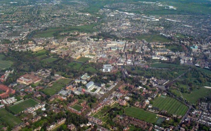 Cambridge Population in 2018