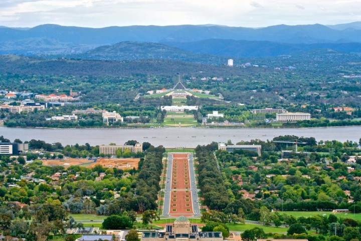Canberra Population in 2018