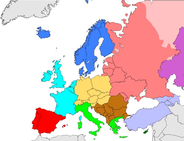 Eastern europe population 2018 demographics maps graphs eastern europe population in 2018 source europe subregion map world factbook gumiabroncs Images