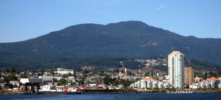 Nanaimo Population in 2018
