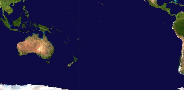 Oceania Population in 2018