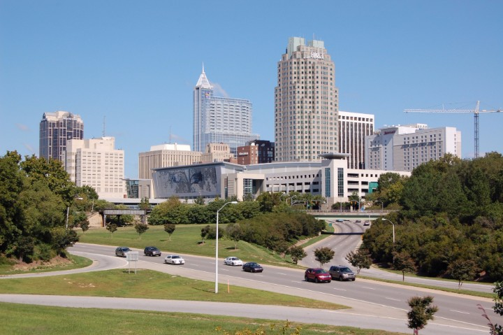 Raleigh Population in 2018