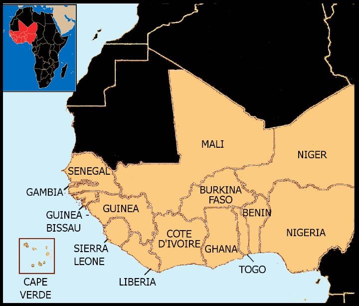 Western Africa Population in 2018