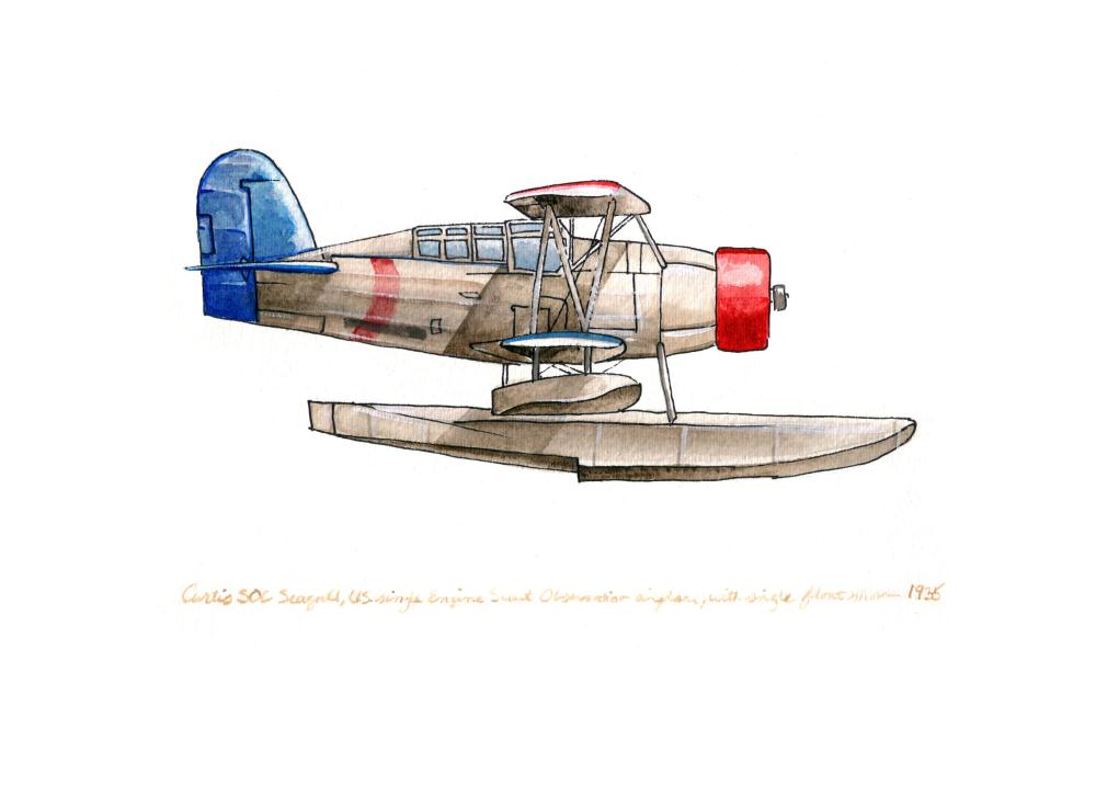 Curtiss SOC Seagull  | Tara's Vintage Airplanes
