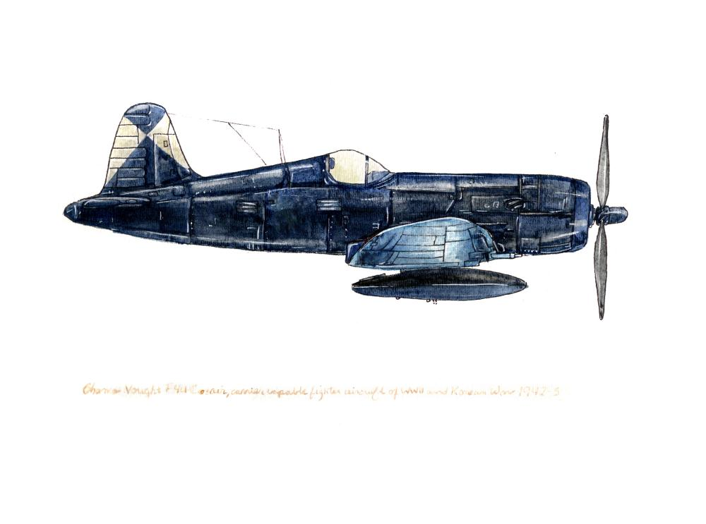 Vought F4U Corsair | Tara's Vintage Airplanes