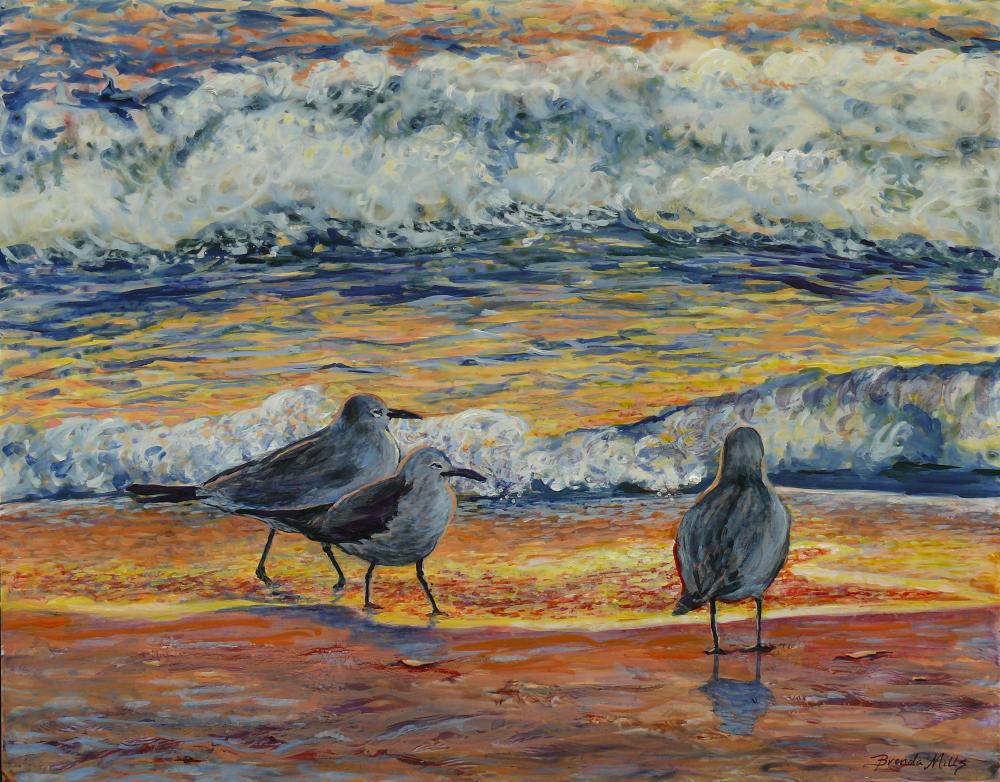 Pipers-Enjoy-Sunsets-Too | Brenda's Artwork