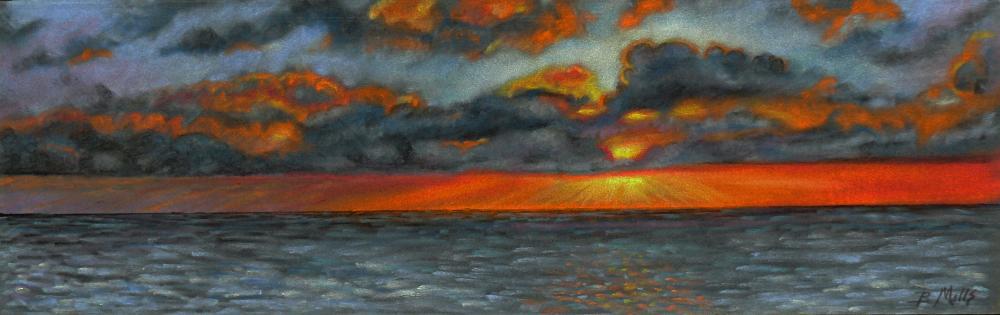 Sunset-before-the-storm | Brenda's Artwork