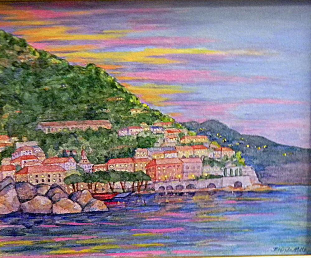Dawn-in-Sorrento | Brenda's Artwork