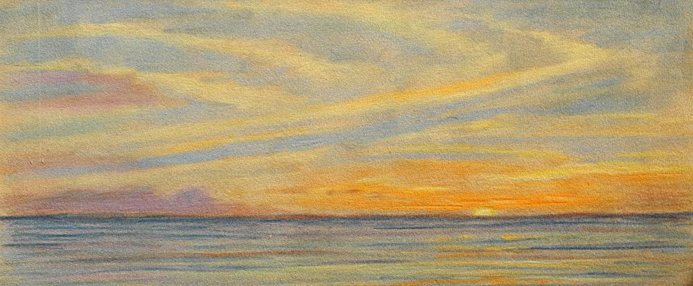 Sunset-Panorama | Brenda's Artwork