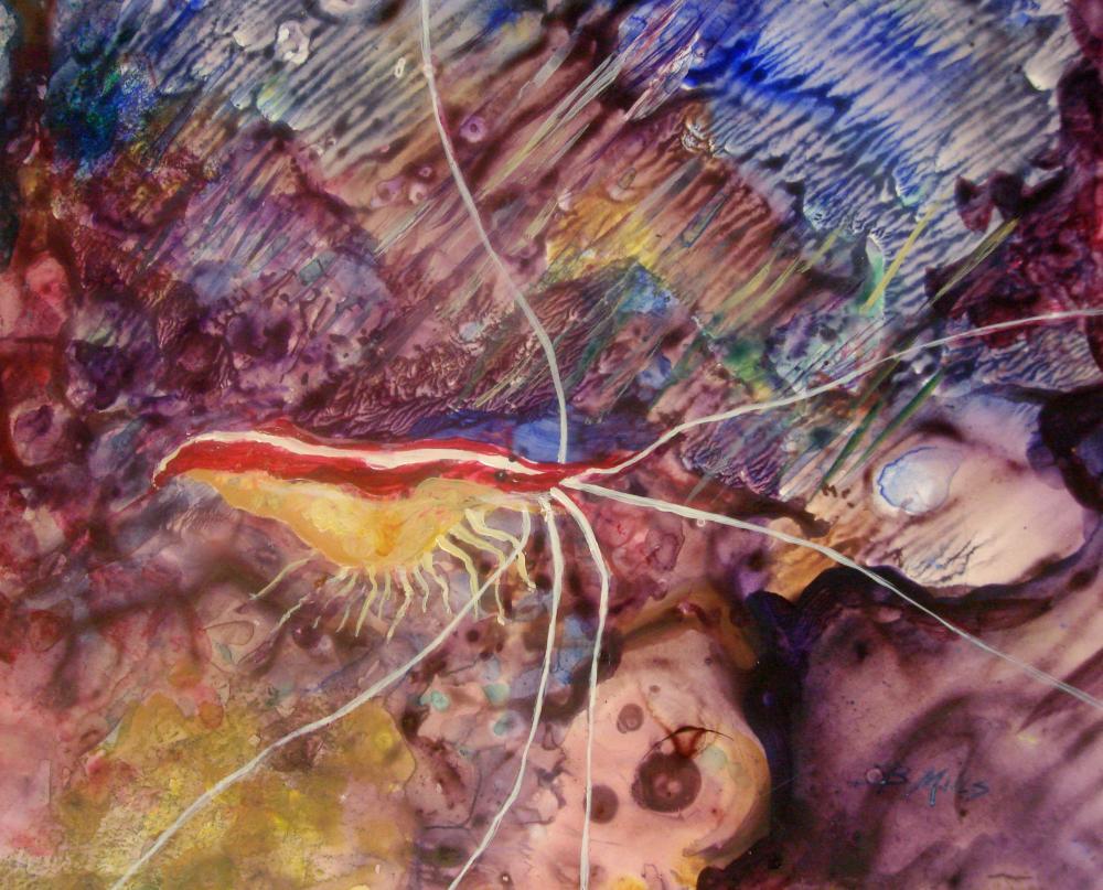 Avoiding-the-Shrimp-Nets   Brenda's Artwork
