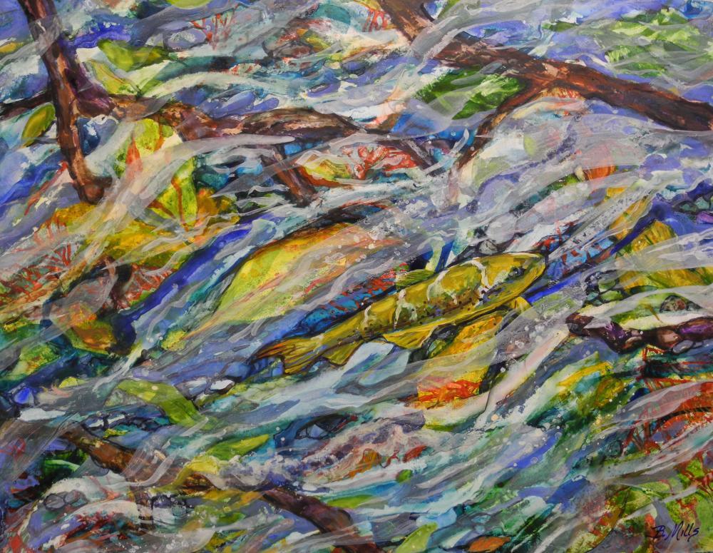 Trout-Midstream-Either-Wa...   Brenda's Artwork