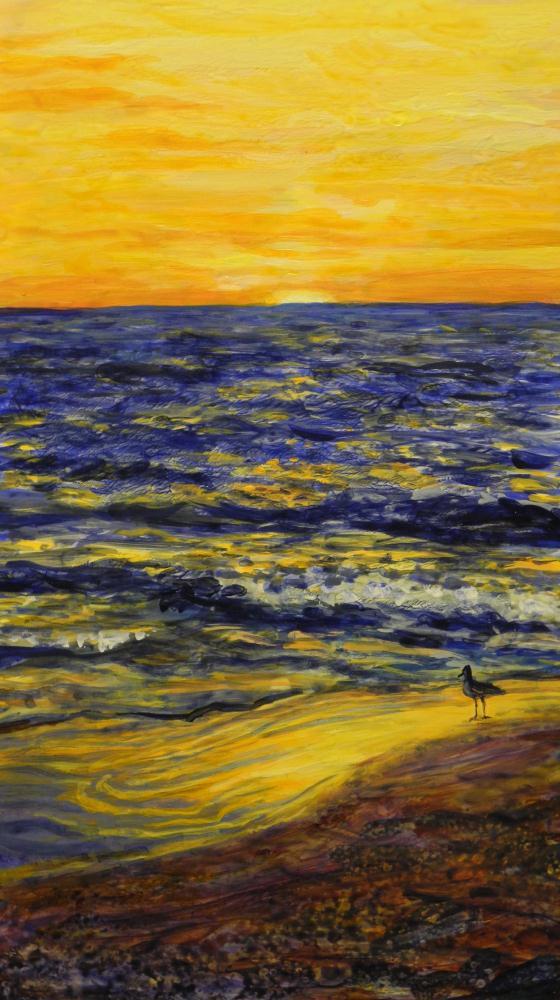 """Sunset-Viewing&quot... | Brenda's Artwork"