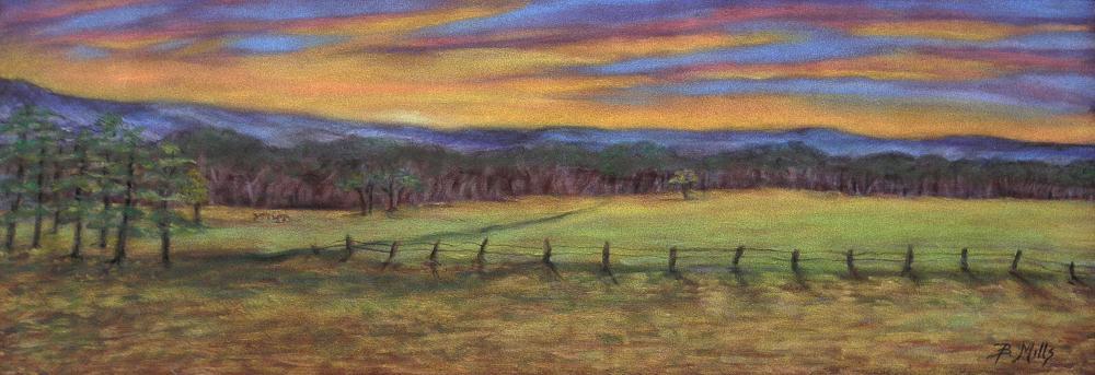 Cades-Cove-at-Sunset-SOLD... | Brenda's Artwork