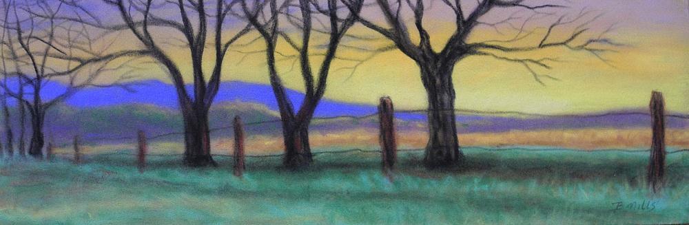 Cades-Cove-Sunset-2 | Brenda's Artwork