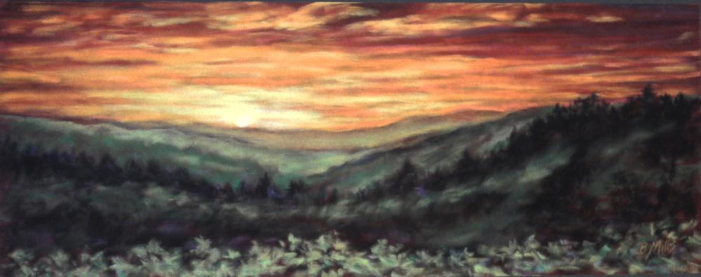 Smoky-Mountain-Sunset | Brenda's Artwork