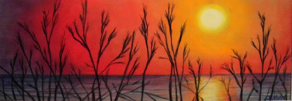 Hot-Day-at-the-Beach | Brenda's Artwork
