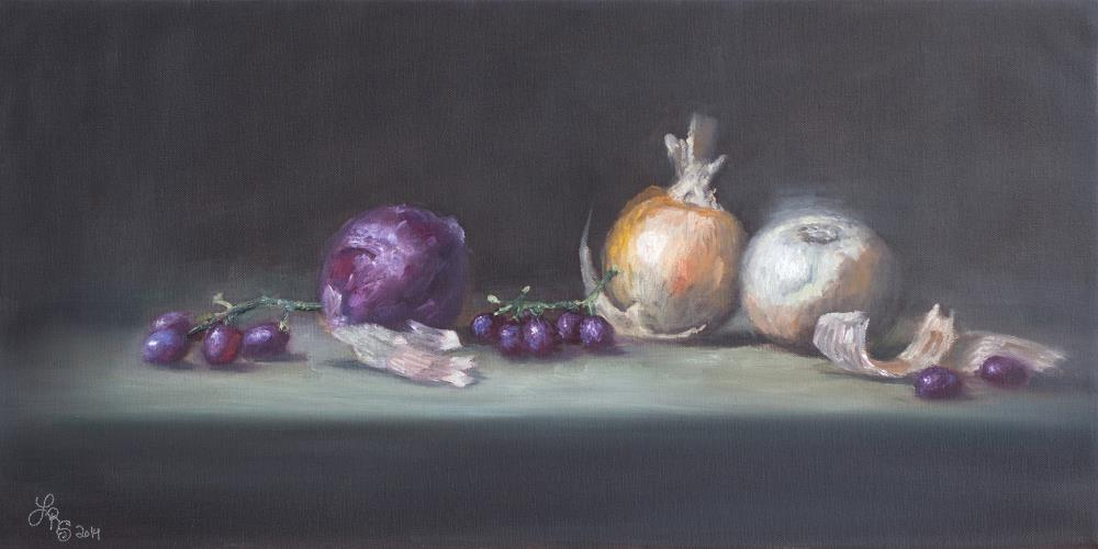 OnionsGrapesPrint | Lydia Rose