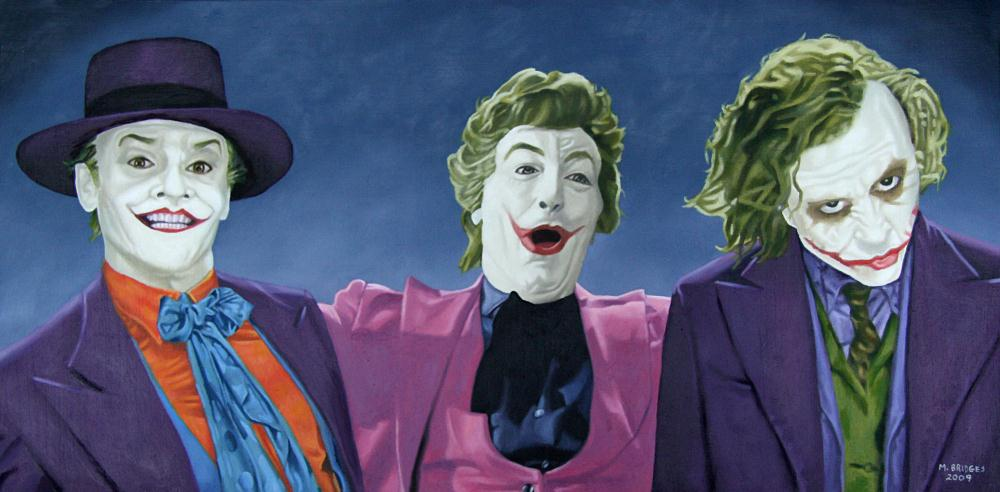 The Three Jokers | Gallery of Michael Bridge...