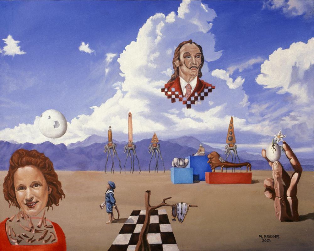 Ode To Salvador Dali | Gallery of Michael Bridge...