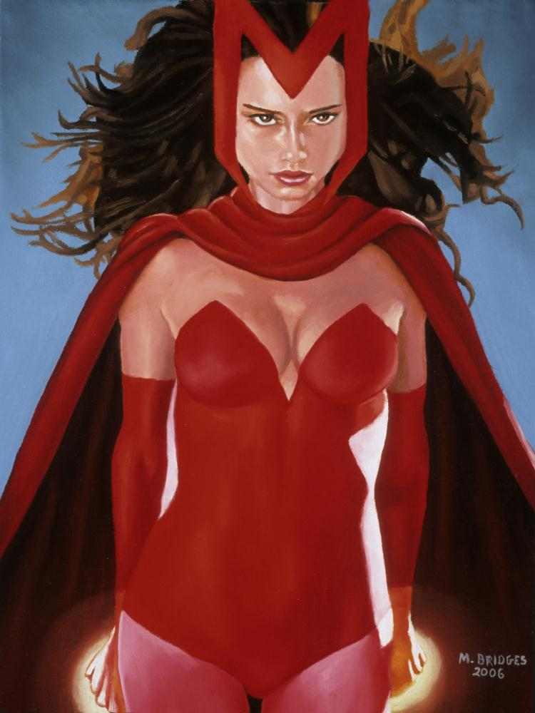 Scarlet Witch | Gallery of Michael Bridge...
