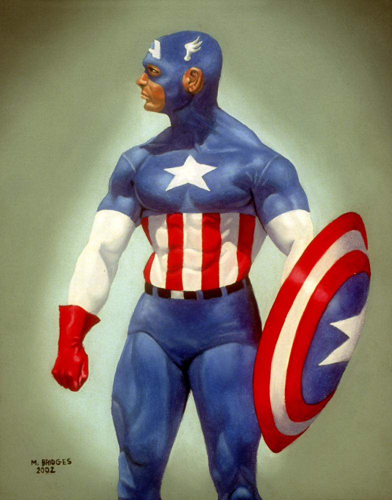 Captain America | Gallery of Michael Bridge...
