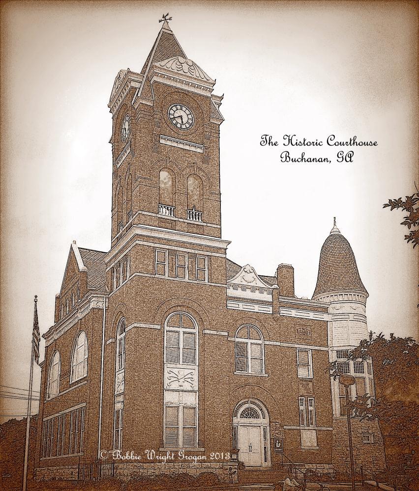 CourthouseBuchanan | Bobbie Wright Grogan