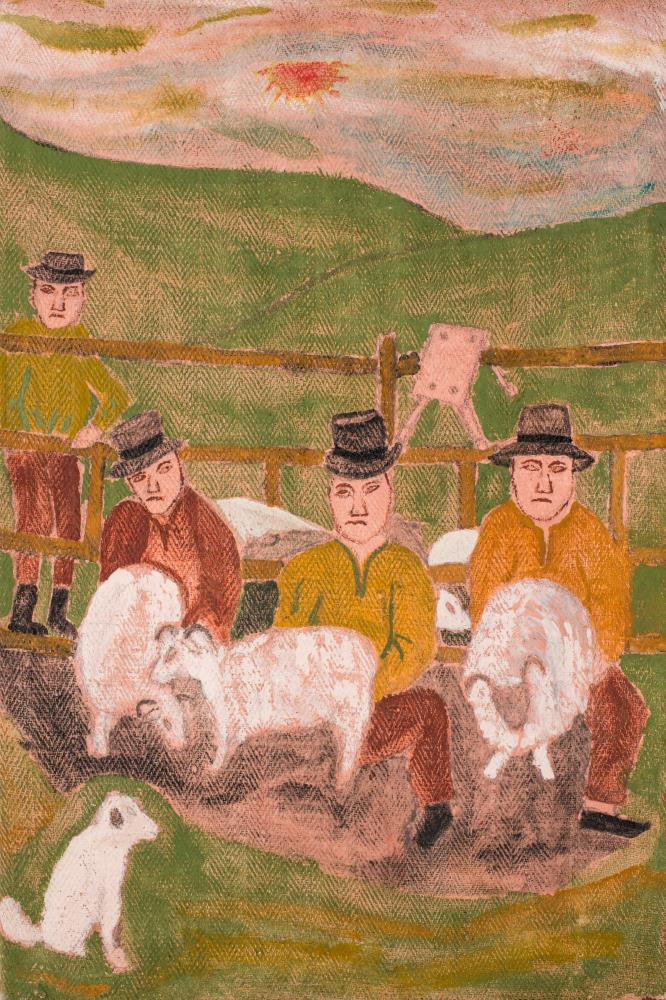 Eastern European Folk Art... | VIS Fine Art Gallery