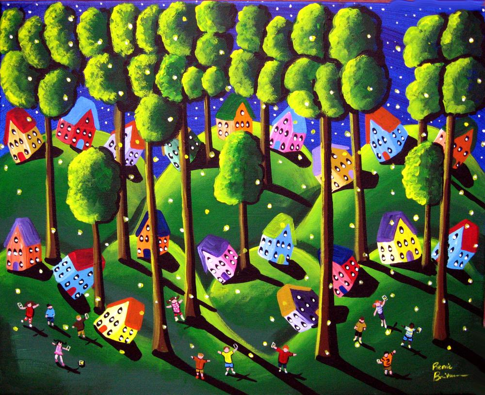 Catching Fireflies | Renie Britenbucher, Artis...