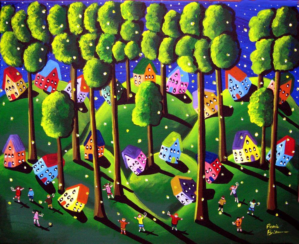 Catching Fireflies | Renie Britenbucher, Artis...