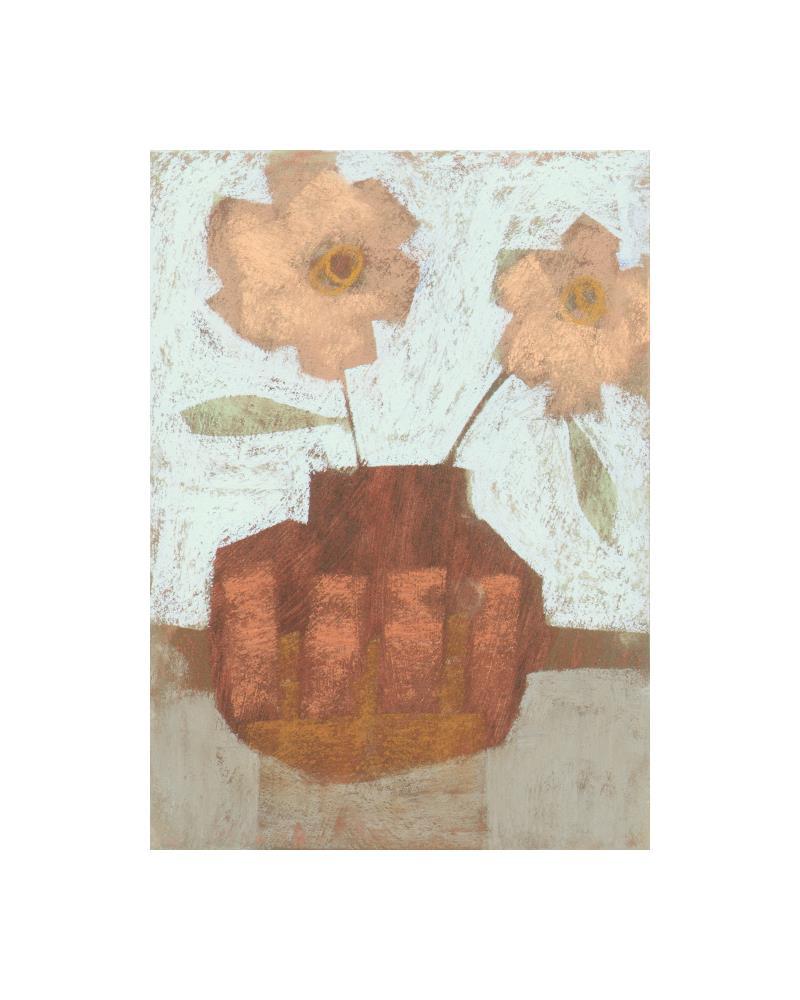Decorated Vase 1 | Janine Aykens Fine Art