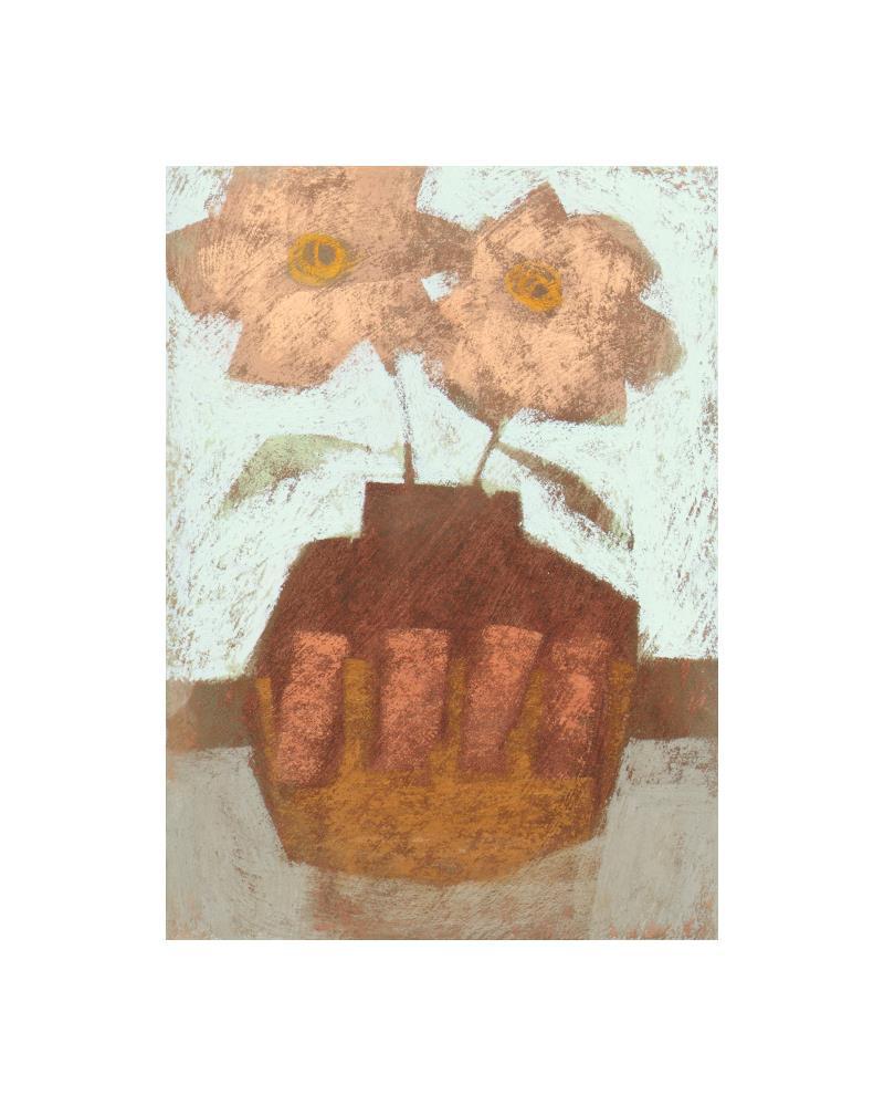 Decorated Vase 2 | Janine Aykens Fine Art