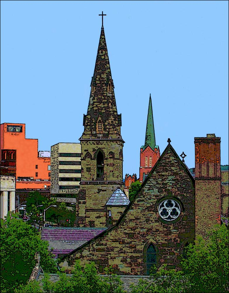 Steeples | GPonterio Digital Art