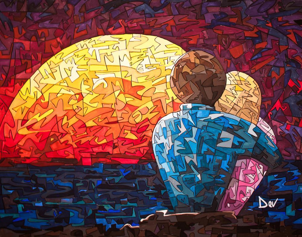 A Private Moment | Devin Brown's Fine Art