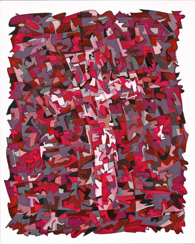 Red Cross | Devin Brown's Fine Art