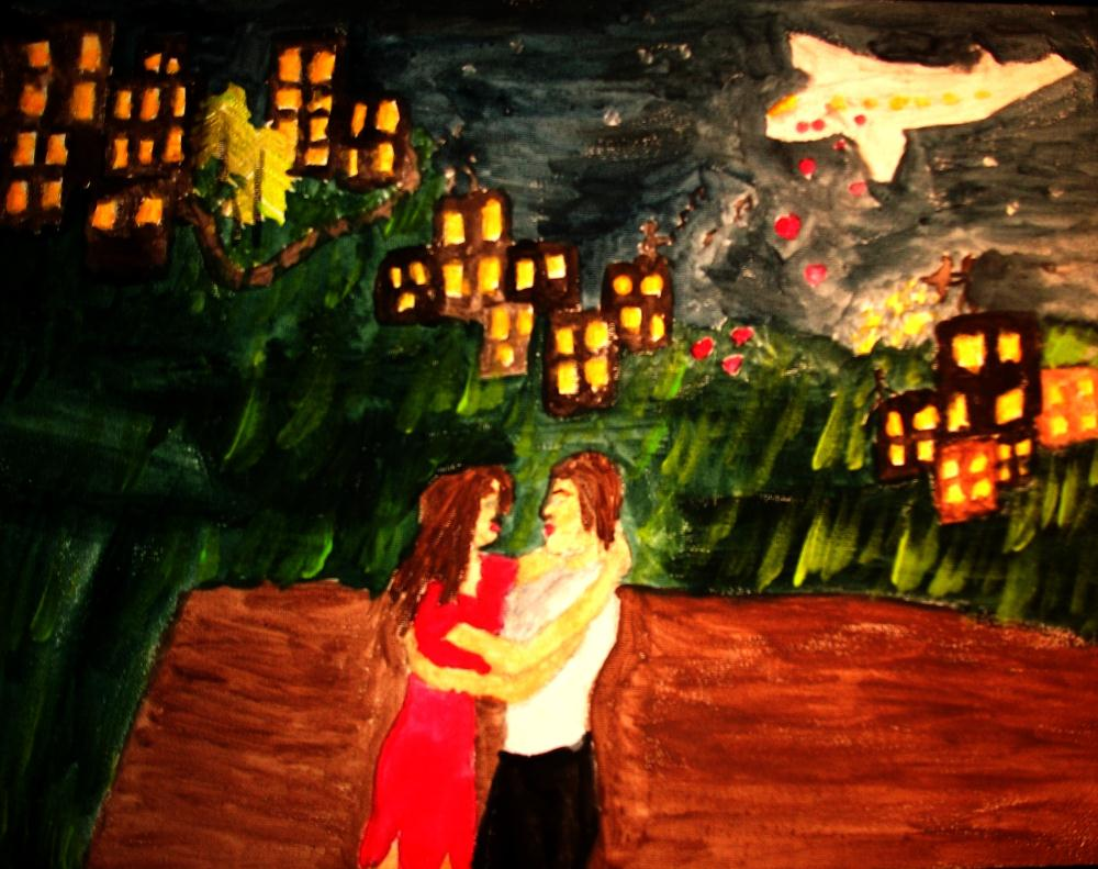 Dance-Of-Night | Ms.Shaffer, Paintings