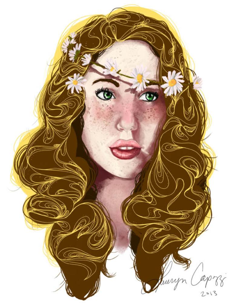 flowersinyourhair4   Ringaroundcapozzi Illustr...