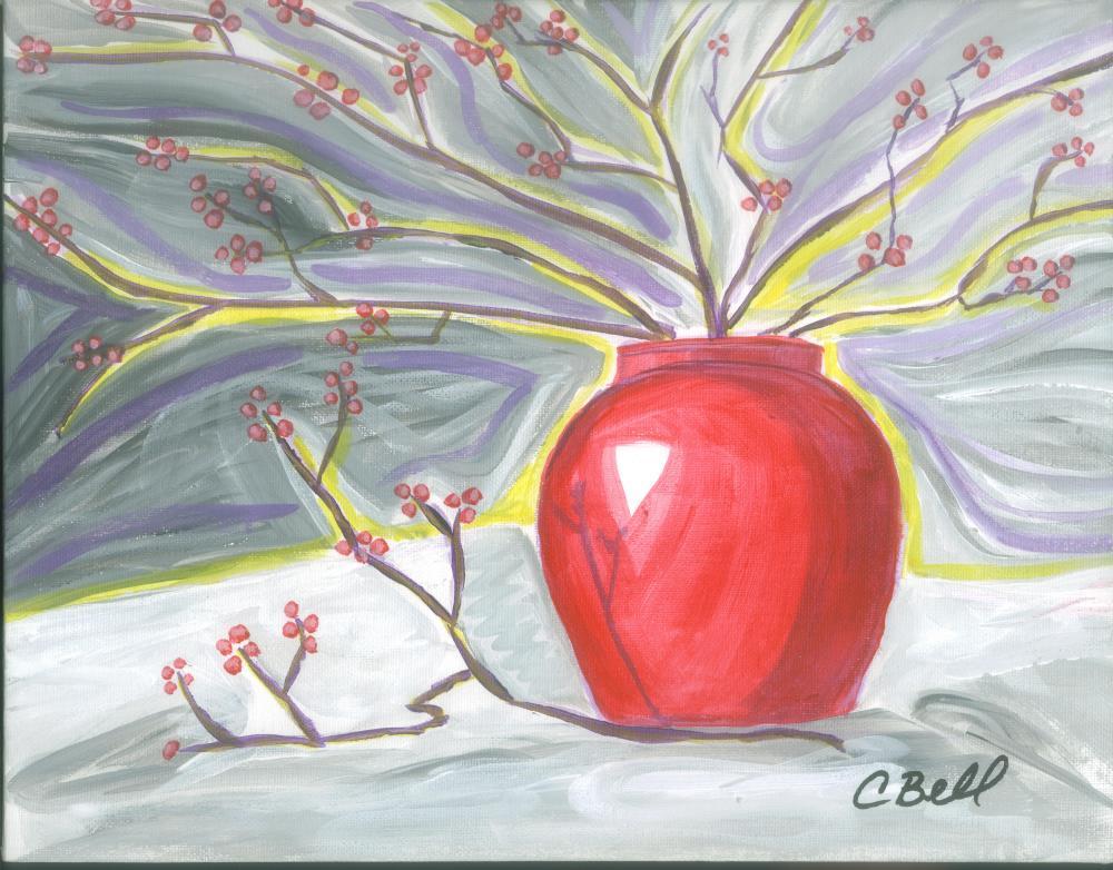 RedVase2012 | Chris Bell Art