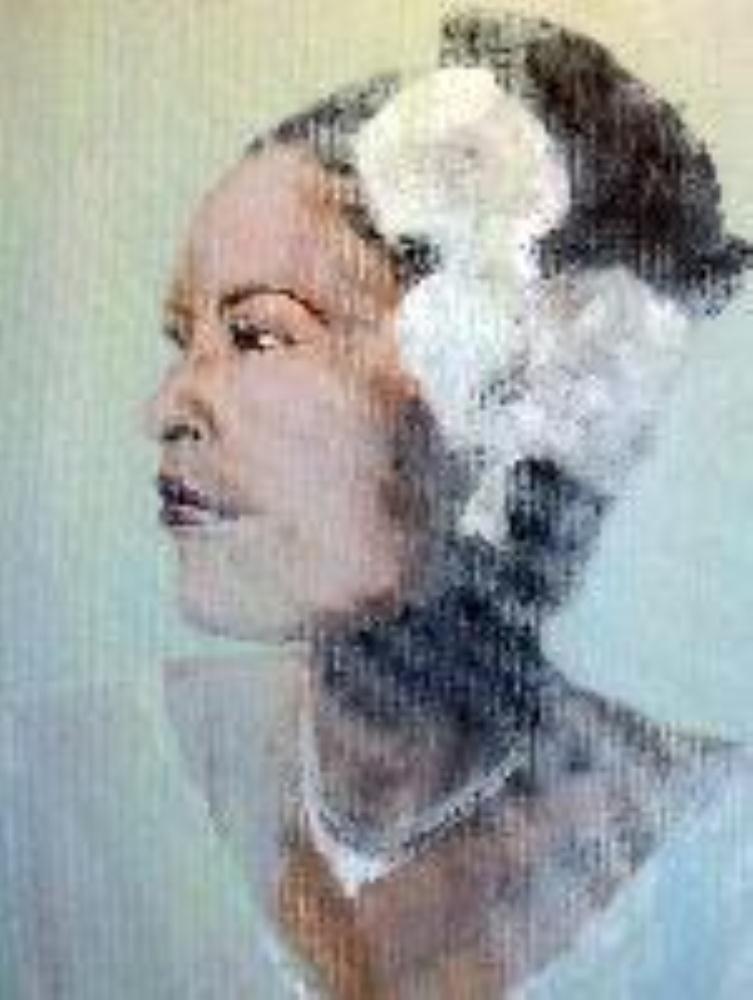 Gardenia | art by kelly hand