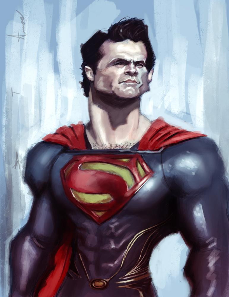 Man of Steel | Devonne Amos illustration...