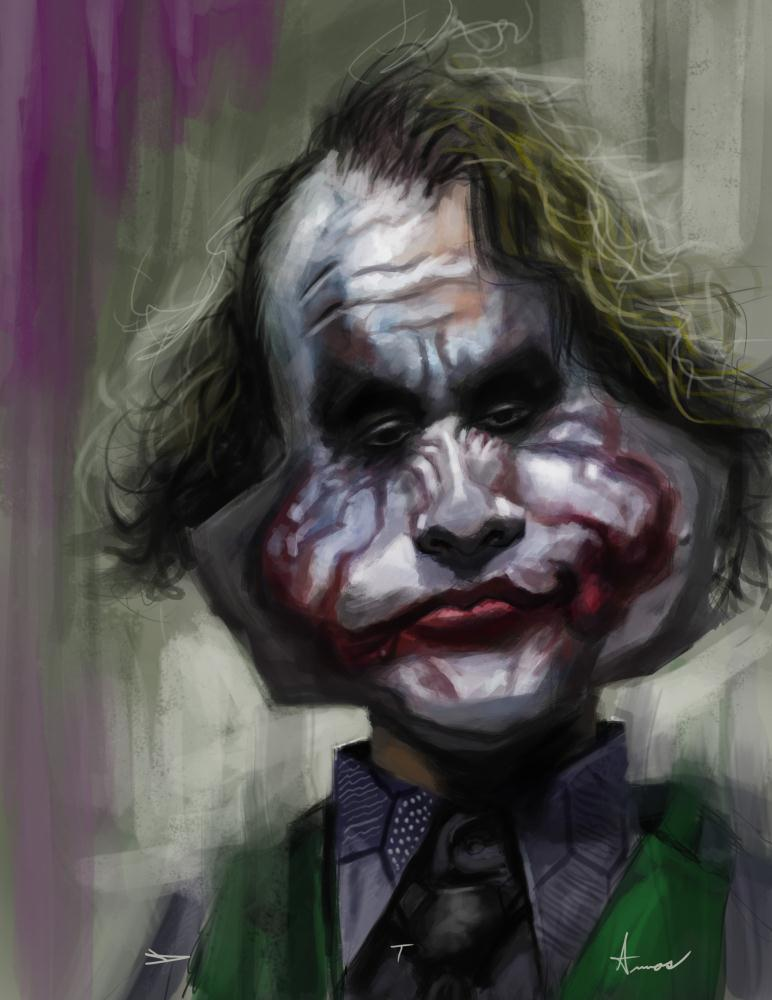 Joker | Devonne Amos illustration...