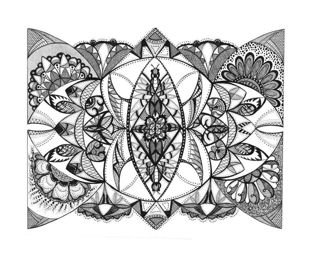 Flight | Pam's Mandalas