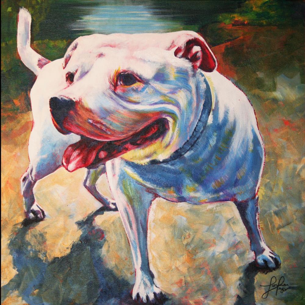 Jack | Original Art by Louise Pr...