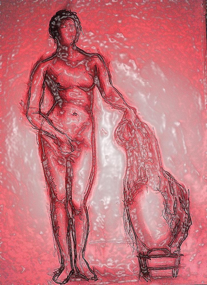 Aphrodite of Knidos (Red ...   JMir Art Studio
