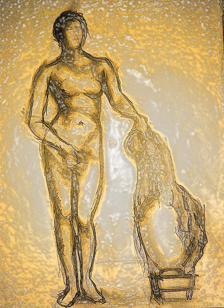 Aphrodite of Knidos (Yell...   JMir Art Studio