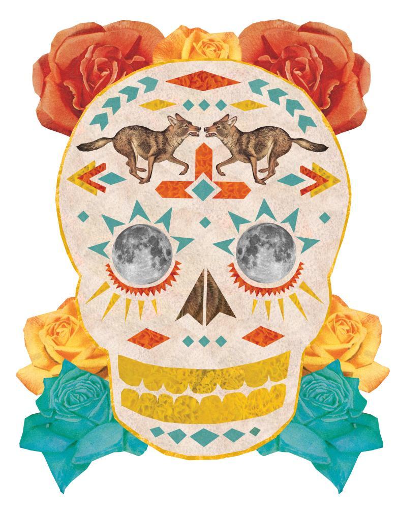 Dia De Los Muertos Wolf S... | one creative girl