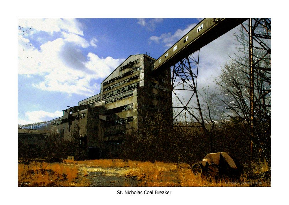 St. Nicks Coal Breaker (1... | Doug's Art & Photography