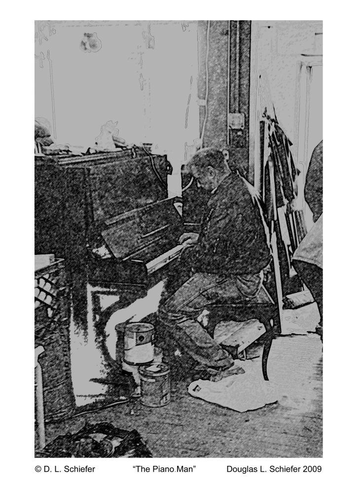 The Piano Man | Doug's Art & Photography