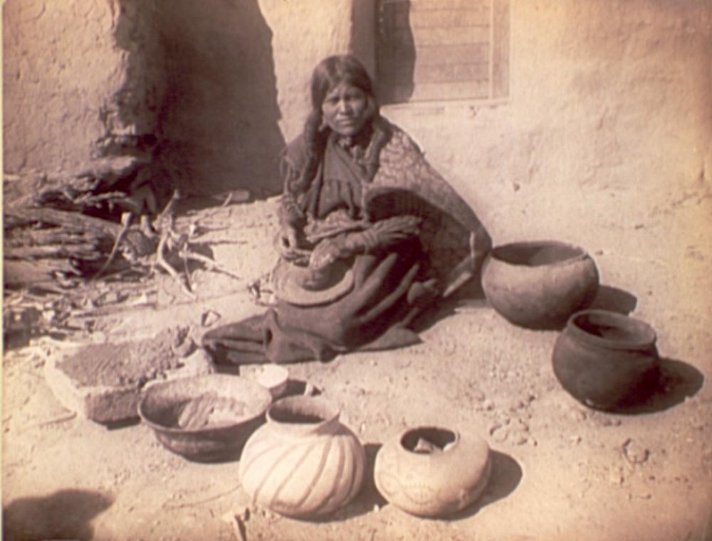 Arizona Indian Woman with... | Artneuvo